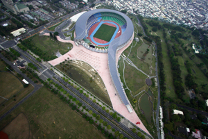 Toyo Ito Main Stadium for The World Games 2009 Taiwan