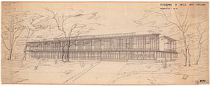 Pietro Lingeri, Accademia di Belle Arti, Milano, Astrazione e costruzione, Triennale Milano