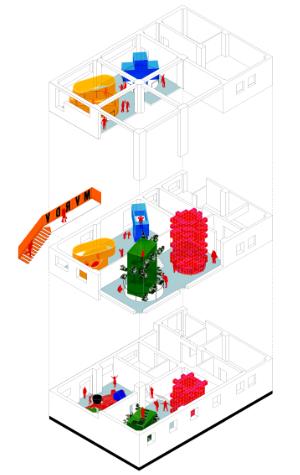 Architecture Speaks, The Language of MVRDV, Innsbruck, Austria, Adambräu, 2019