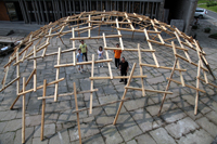 Decay of a Dome Exhibit 10th Venice Biennale of Architecture Wang Shu Pritzker 2012