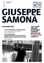Giuseppe Samonà, Un maestro Iuav