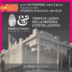 Tempo e luogo della Materia, Costellazioni, Gianluca Peluffo, Simposio Design, Milano