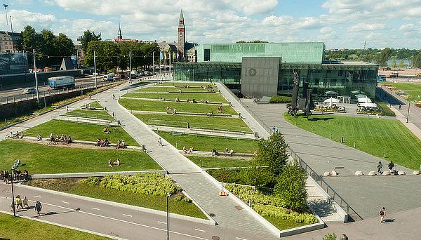 Steven Holl, Kiasma, Helsinki