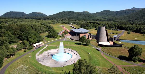 Hans Hollein, Vulcania, Parc Européen du Volcanisme, Atelier 4, Saint-Ours-les-Roches, France, Auvergne