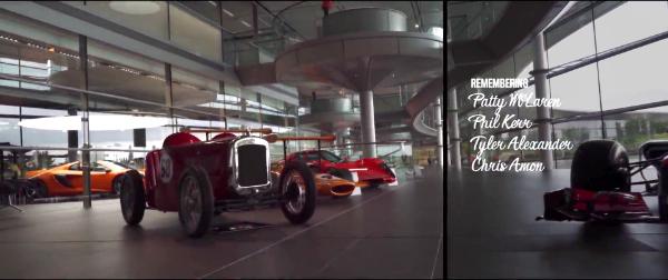 TAG McLaren Technology Centre, McLaren, movie, Roger Donaldson, Woking