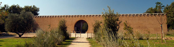 Mario Botta Padiglione Ingresso Giardino dei Tarocchi Tarot Garden  Capalbio