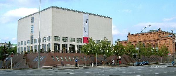 Oswald Mathias Ungers, Gallerie der Gegenwart, Hamburger Kunsthalle, Hamburg, Germany