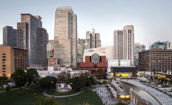 Mario Botta, SFMOMA, San Francisco Museum of Modern Art, HOK, California