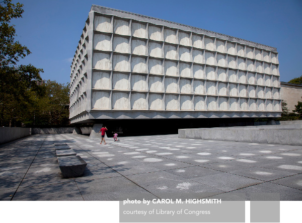 Gordon Bunshaft, SOM, Beinecke Rare Book and Manuscript Library, Yale University, New Haven, Connecticut
