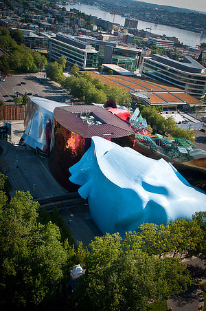 Frank O. Gehry, EMP Museum, Experience Music Project, Seattle