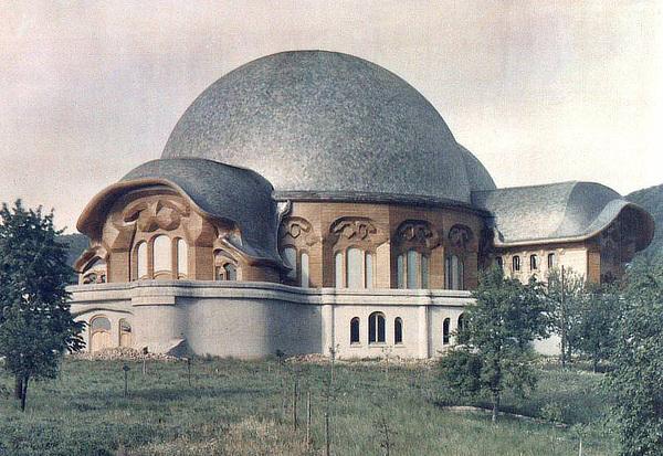 Goetheanum, Rudolf Steiner, Dornach, Solothurn, Switzerland