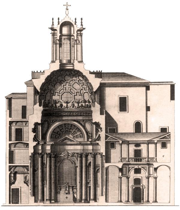 Francesco Borromini, San Carlo alle Quattro Fontane, San Carlino, Roma