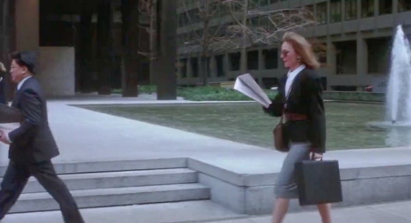 Seagram Building, Ludwig Mies van der Rohe, Philip Johnson, Baby Boom, Diane Keaton, Manhattan