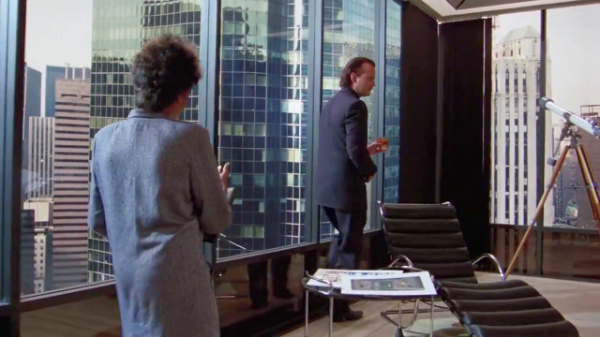 Seagram Building, Ludwig Mies van der Rohe, Philip Johnson, Scrooged, Manhattan, New York City