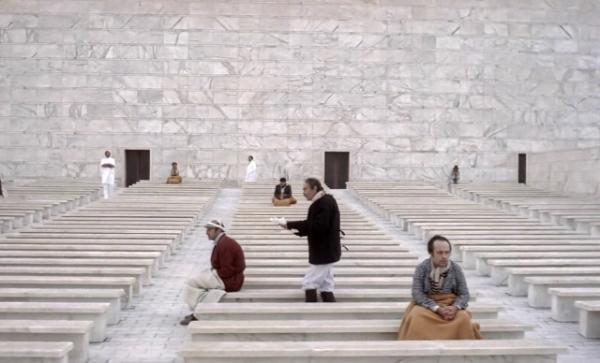 Adalberto Libera, Palazzo ricevimenti e congressi, Roma, Il conformista, Bernardo Bertolucci, Jean-louis Trintignant, Dominique Sanda