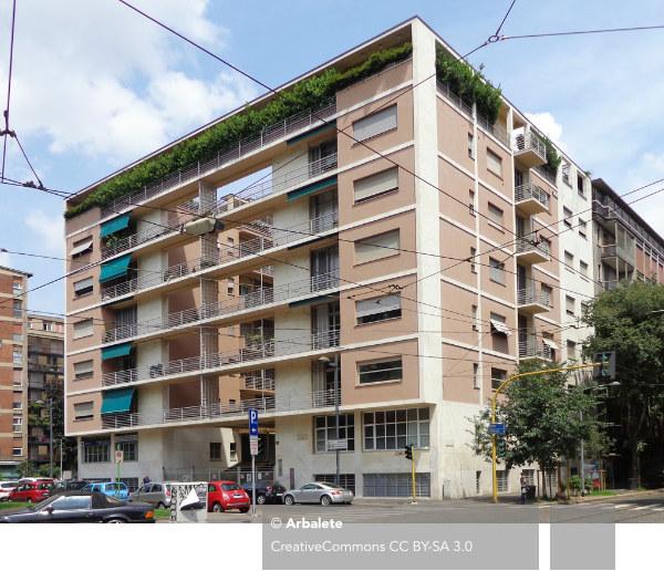 Casa Rustici, Giuseppe Terragni, Pietro Lingeri, Milano, Corso Sempione