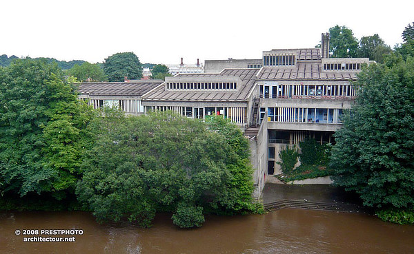 Durham University, Dunelm House, Architects' Co-operative Partnership, ACP, Ove Arup, Durham, England