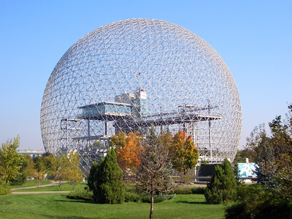 Geodesic Dome, Montreal Biosphère, Buckminster Fuller, Montreal, Ile de Notre-Dame, Expo 67, Éric Gauthier
