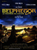 Belphegor, Phantom of the Louvre, Sophie Marceau, I.M. Pei, Louvre, Pyramide, Paris