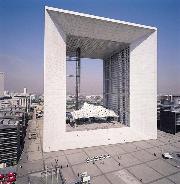 La Grande Arche, Johan Otto von Spreckelsen, La Défense, Nanterre, Paris, France, Paul Andreu