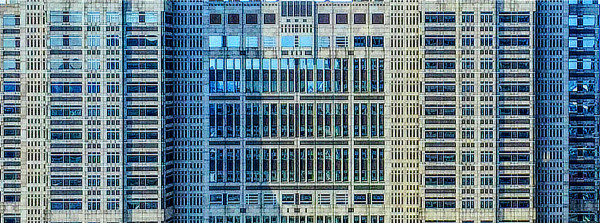Kenzo Tange, Tokyo Metropolitan Government Building, City Hall, Tokyo, Japan, Kiyoshi Mutō