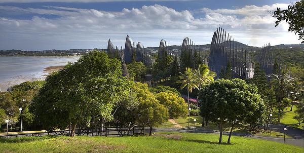 Centre culturel Tjibaou, Nouméa, Magenta Bay, Renzo Piano, RPBW, New Caledonia, Nouvelle Calédonie