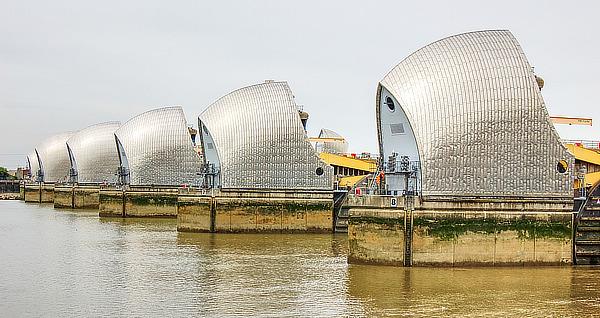Thames Barrier, Charles Draper, dam, London