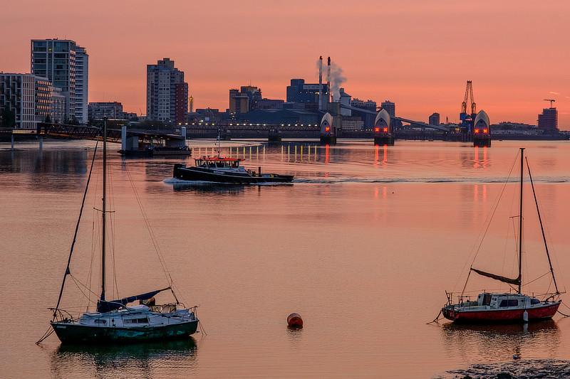 Thames Barrier, Charles Draper, Rendel, Palmer and Tritton, dam, London