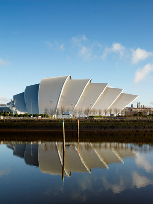Foster + Partners Clyde Auditorium Glasgow Scotland