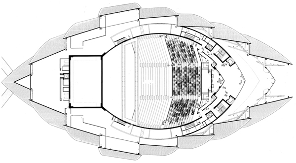 Clyde auditorium seating plan