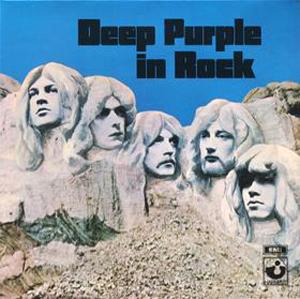 Deep Purple in Rock Mount Rushmore