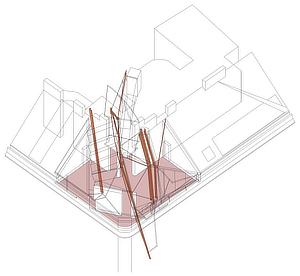 Coop Himmelb(l)au, Wolf D. Prix, Helmut Swiczinsky, Rooftop Remodeling Falkestraße, Schuppich Sporn Winischhofer, Vienna, Austria