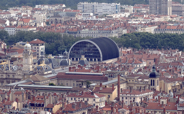 Jean Nouvel, Emmanuel Blamont, Lyon Opera House, Opéra de Lyon, France, Société Kephren