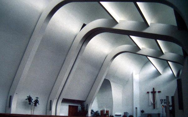 Alvar Aalto, Elissa Aalto, Chiesa di S. Maria Assunta Church, Cardinale Giacomo Lercaro, Riola, Bologna, Italy