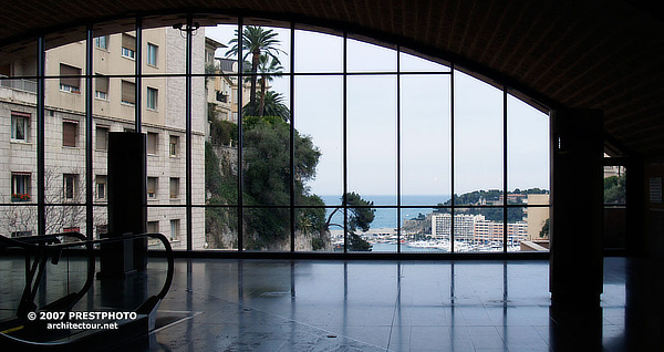 Gare de Monaco, Monaco Railway Station, AREP, Monte-Carlo