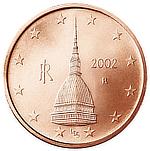 Mole Antonelliana, Torino, Turin, Italy, Alessandro Antonelli, Euro 2 cent
