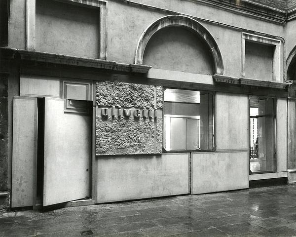 Olivetti, Carlo Scarpa, Piazza San Marco, Venezia, Venice, Italy