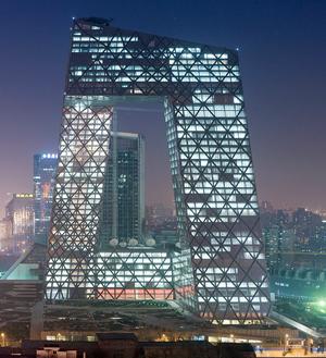 OMA, Rem Koolhaas, Ole Scheeren, Arup, Cecil Balmond, CCTV, Beijing