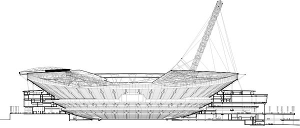 Foster + Partners HOK Sport Wembley Stadium London