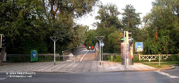 Herwig Illmaier, Augartensteg, Graz, Styria, Steiermark, Mur, Austria