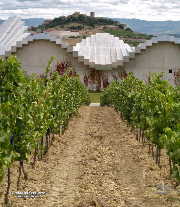 Santiago Calatrava, Bodega Ysios, winery, Laguardia, Rioja Alavesa, Basque Country, Euskadi