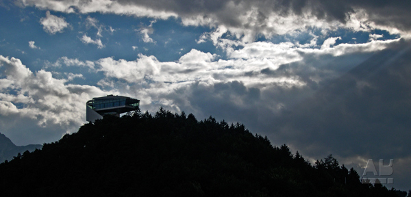 Zaha Hadid Architects, Bergisel Ski Jump, Bergiselschanze, Innsbruck, Austria