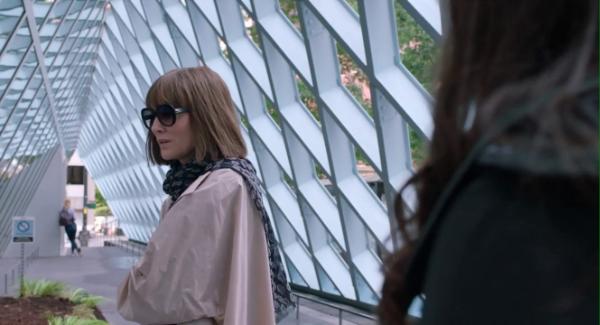 Seattle Central Library, OMA, Rem Koolhaas, Where'd You Go Bernadette, Cate Blanchett, Petra Blaisse, Joshua Ramus