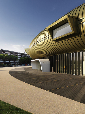 Sensing the Waves, NIO architecten, Maurice Nio, Joan Almekinders, Museo Pecci, Prato, Tuscany
