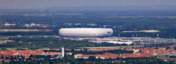 Herzog & de Meuron, Allianz Arena, Munich, München, Bayern