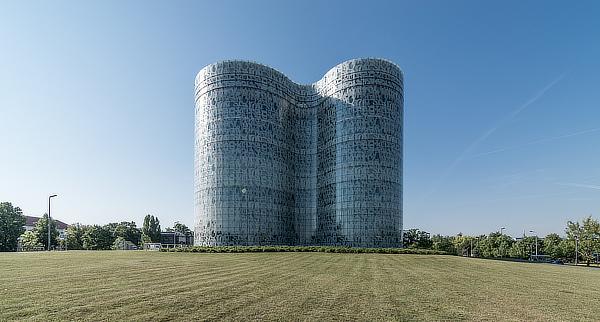 Herzog & de Meuron, IKMZ Informations Kommunikations und Medienzentrum, Brandenburg University of Technology, Cottbus, Germany