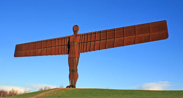 Antony Gormley, Angel of the North, Gateshead, Newcastle-upon-Tyne, England, Ove Arup, John Thornton