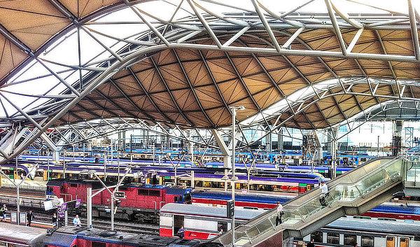 Nicholas Grimshaw, Grimshaw Architects, Jackson Architecture, Southern Cross Station, Melbourne, Australia, Winward Structures