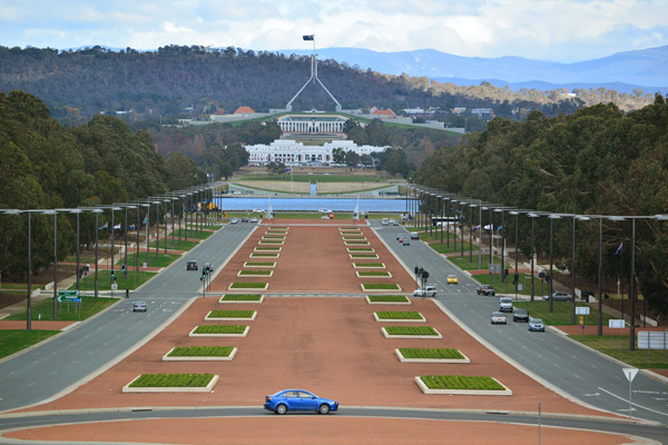 Mitchell Giurgola and Thorp, Romaldo Giurgola, Richard Thorp, Parliament House, Canberra, Australia