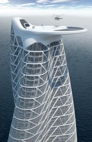 Asymptote Strata Tower Abu Dhabi